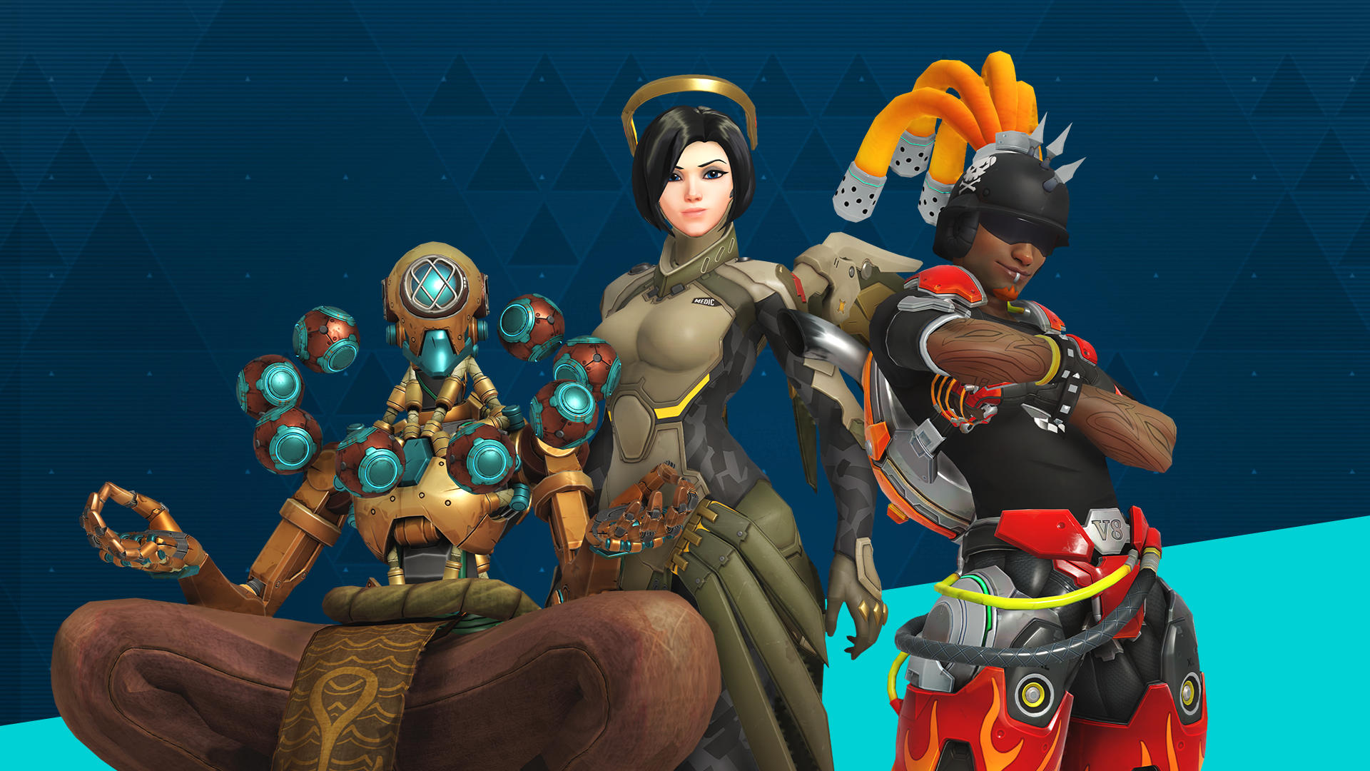 Celebrate five years of Overwatch with past brawls and new loot!