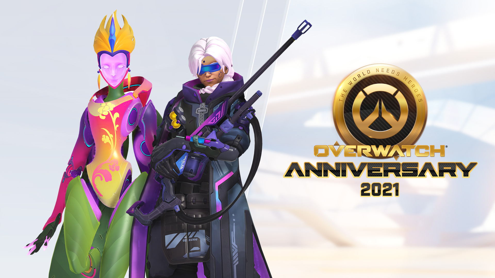 Join us as we celebrate five years of an ever-evolving landscape of clip-worthy plays, jaw-dropping player creations, and meta-redefining new features and heroes.