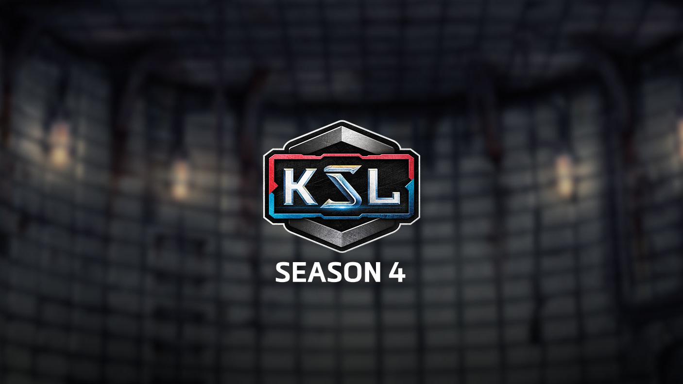 Centered KSL logo
